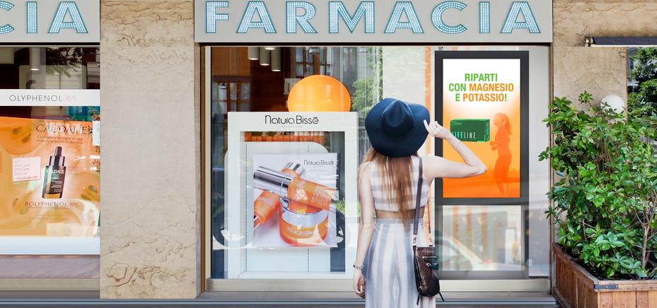 Soluzioni da vetrina per la Farmacia