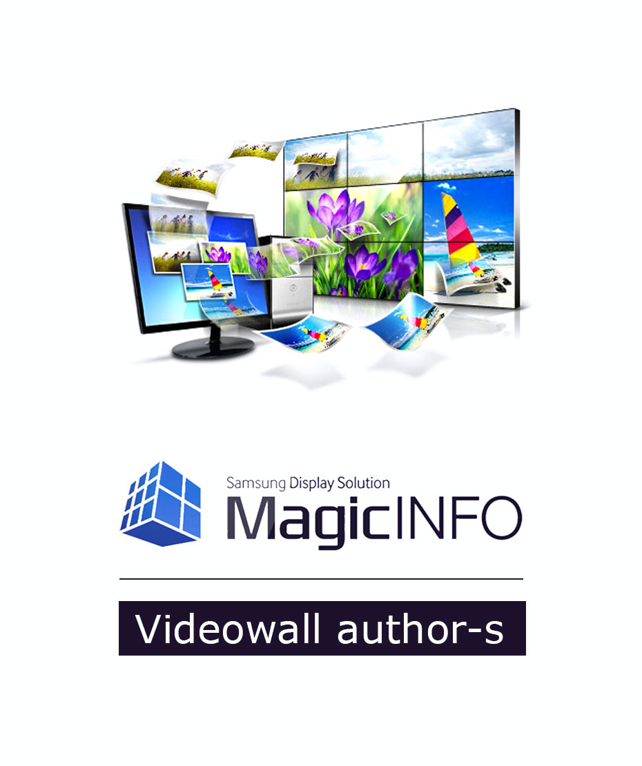 MagicInfo Videowall author s