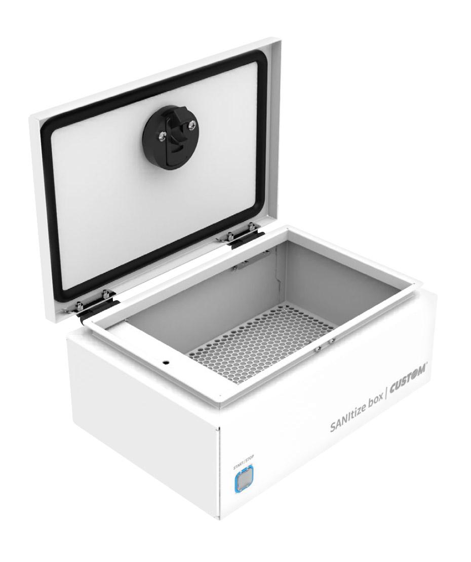 SANItize box sistema di sanificazione ad ozono mod. Large