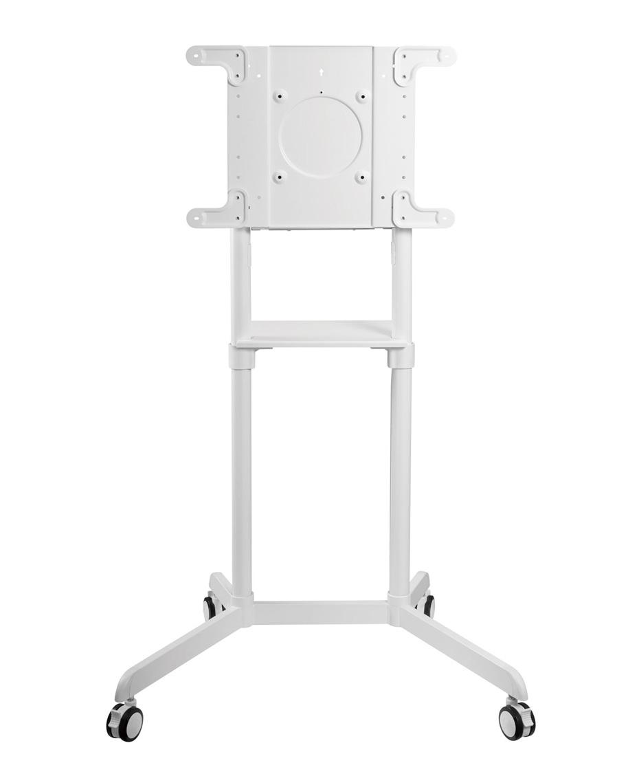 """Carrello per Samsung Flip2 con monitor da 65"""" WHITE"""