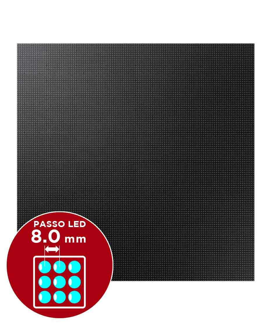 Samsung led per esterni XA080J 6300 cd