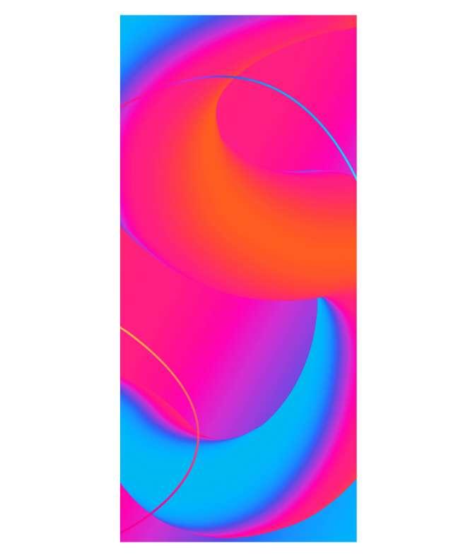 Samsung led per interni mod. IE025R  configurazione 1x4 dimensione 96x216 cm