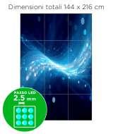 Configurazione Ledwall Samsung 3x4 Mod. IF025H