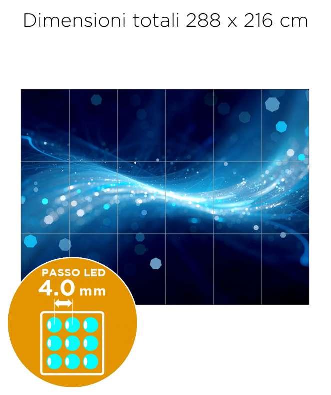 Configurazione Ledwall Samsung 6x3 Mod. IF040H-D