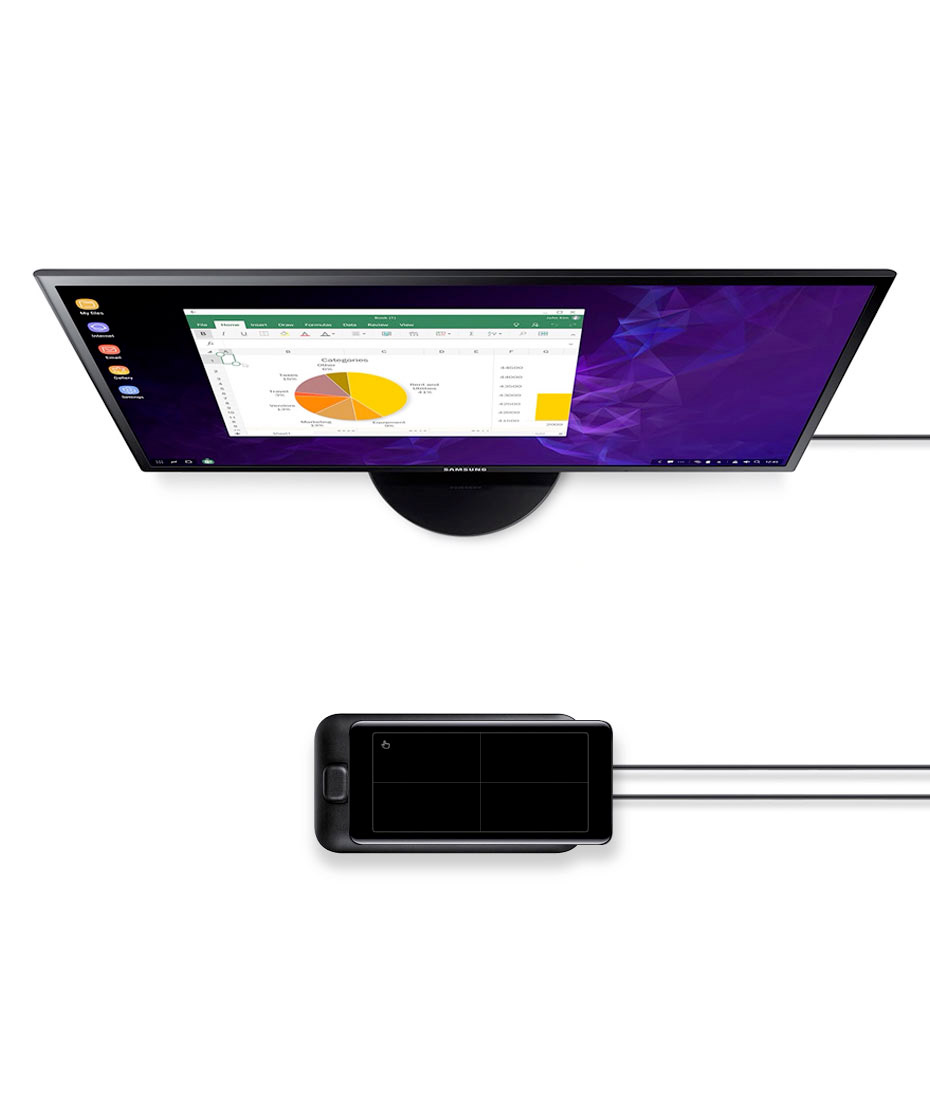 Soluzione Enterprise Dex Pad per smartphone