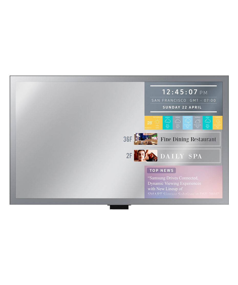 Monitor Led 55 Pollici Professionale Samsung Mod. ML55E Mirror Display