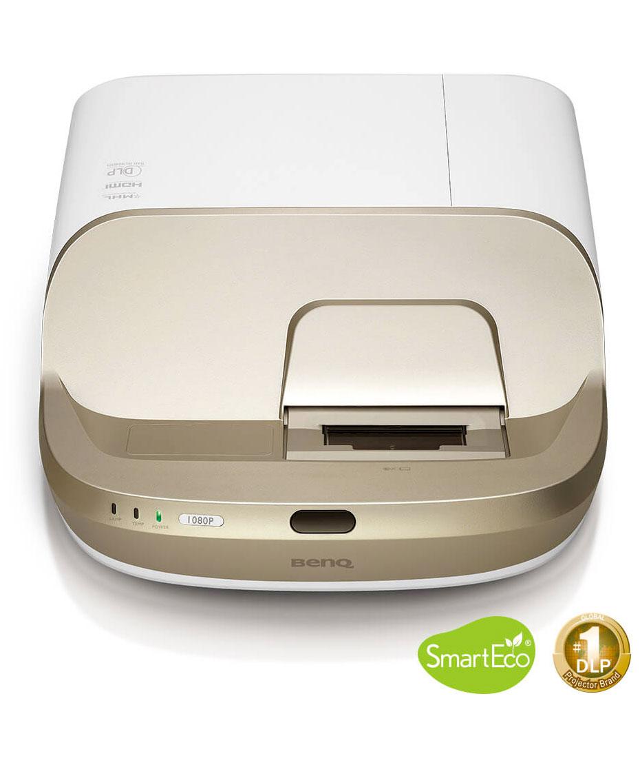 Proiettore BenQ mod W1600UST FHD e ottica ultra corta Luminosità AL 2800