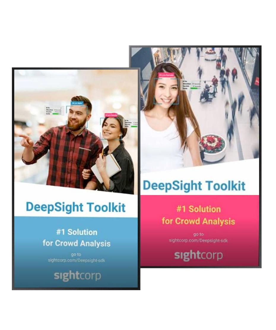 Software per l'analisi demografica dei consumatori attraverso il Digital Signage