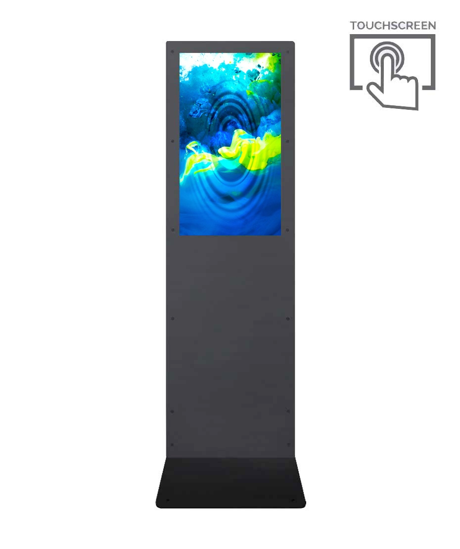 Totem Multimediale touch screen 4K Mod. Kombo 43 TS