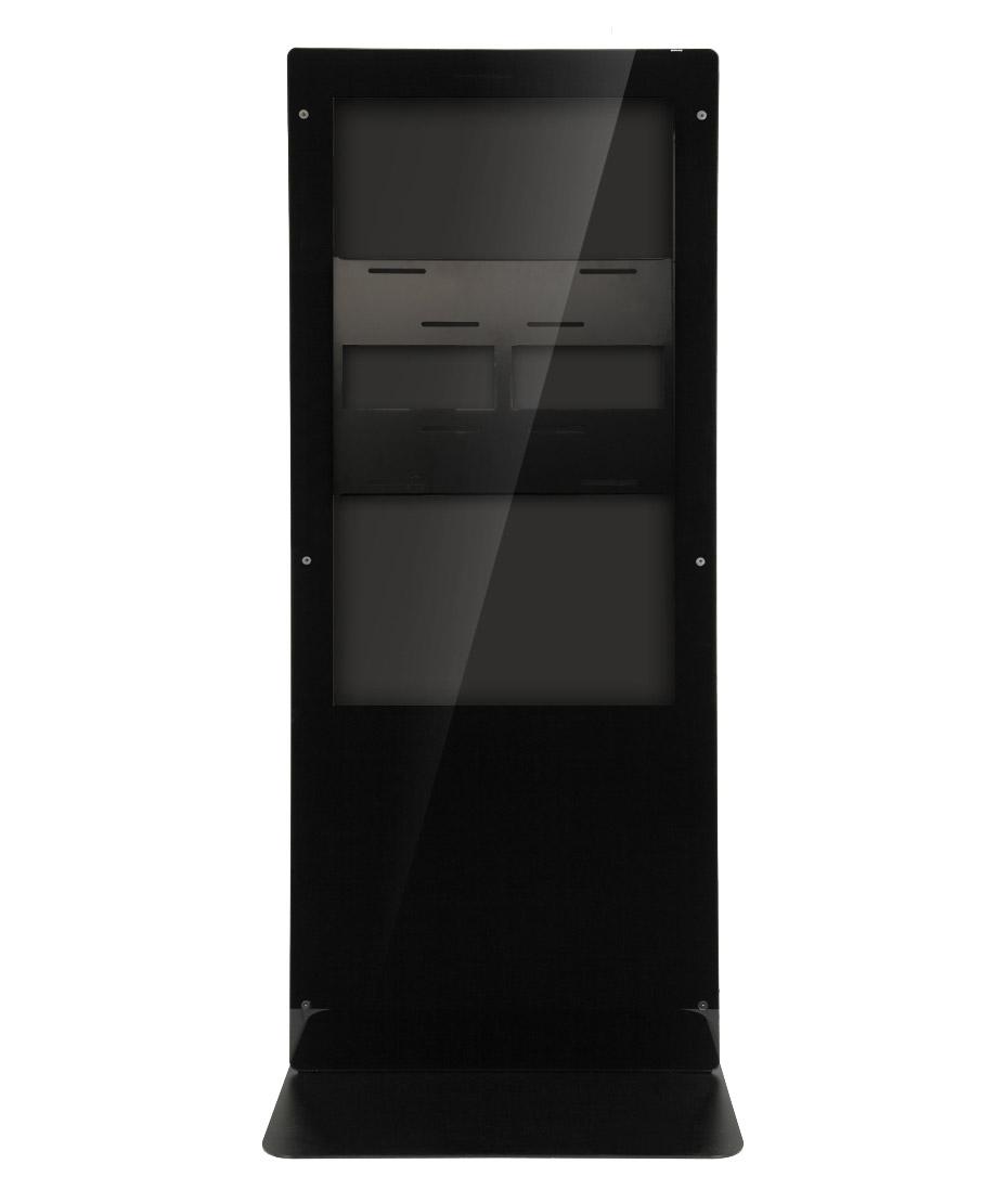 Struttura Totem Multimediale Monofacciale Mod. Newton 55