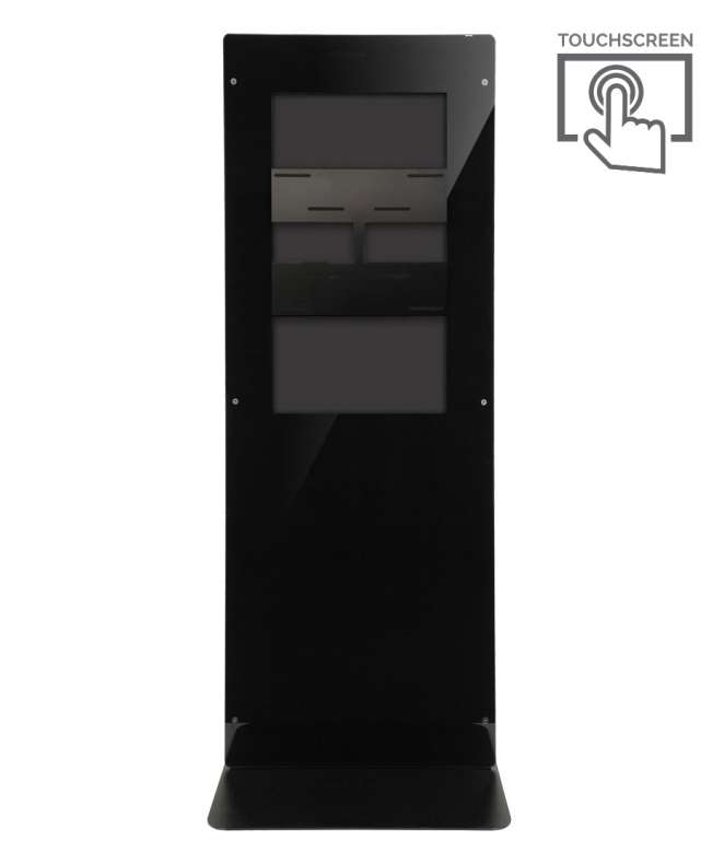 Struttura Totem Multimediale Monofacciale Mod. Newton 43 TS