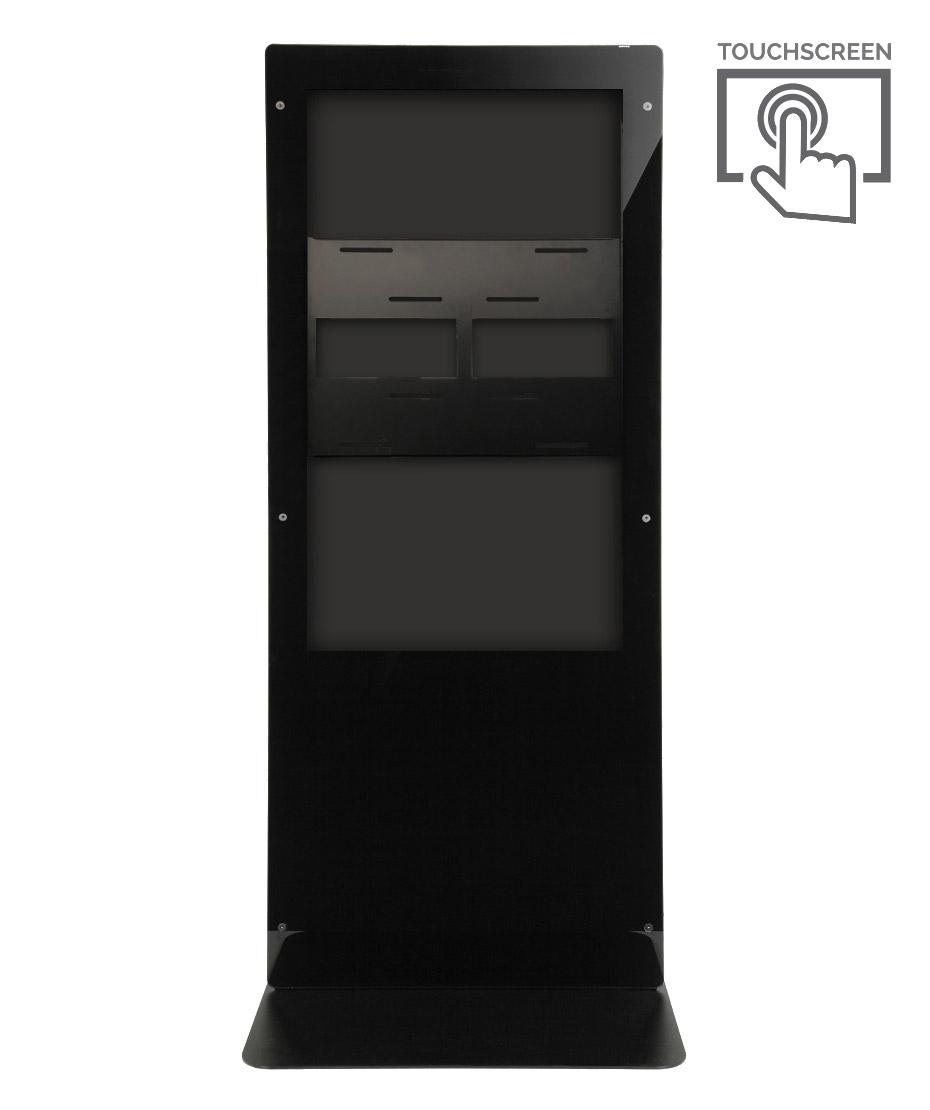 Struttura Totem Multimediale Monofacciale Mod. Newton 55 TS