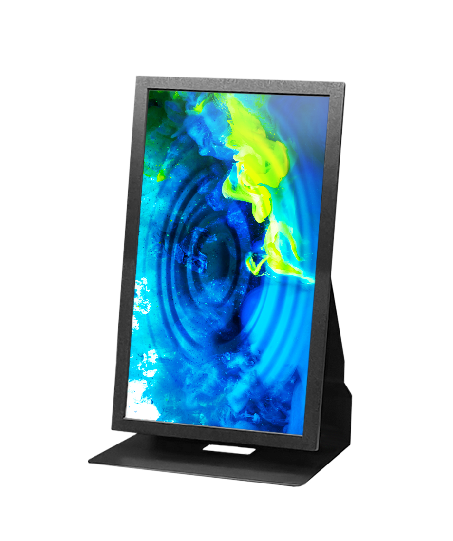 "Soluzione multimediale da banco mod. Space TS con display da 13"" Touch screen"