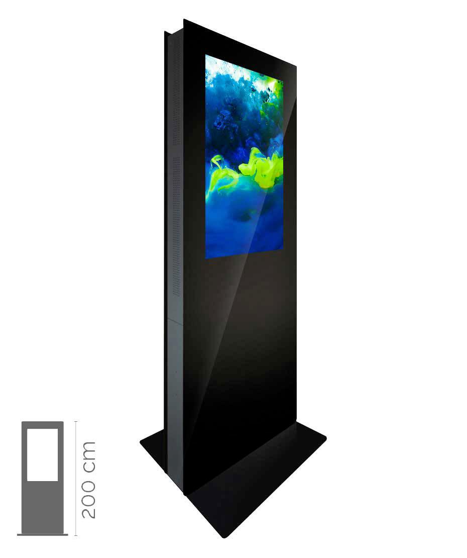 Totem Multimediale Bifacciale Mod. T43 bif