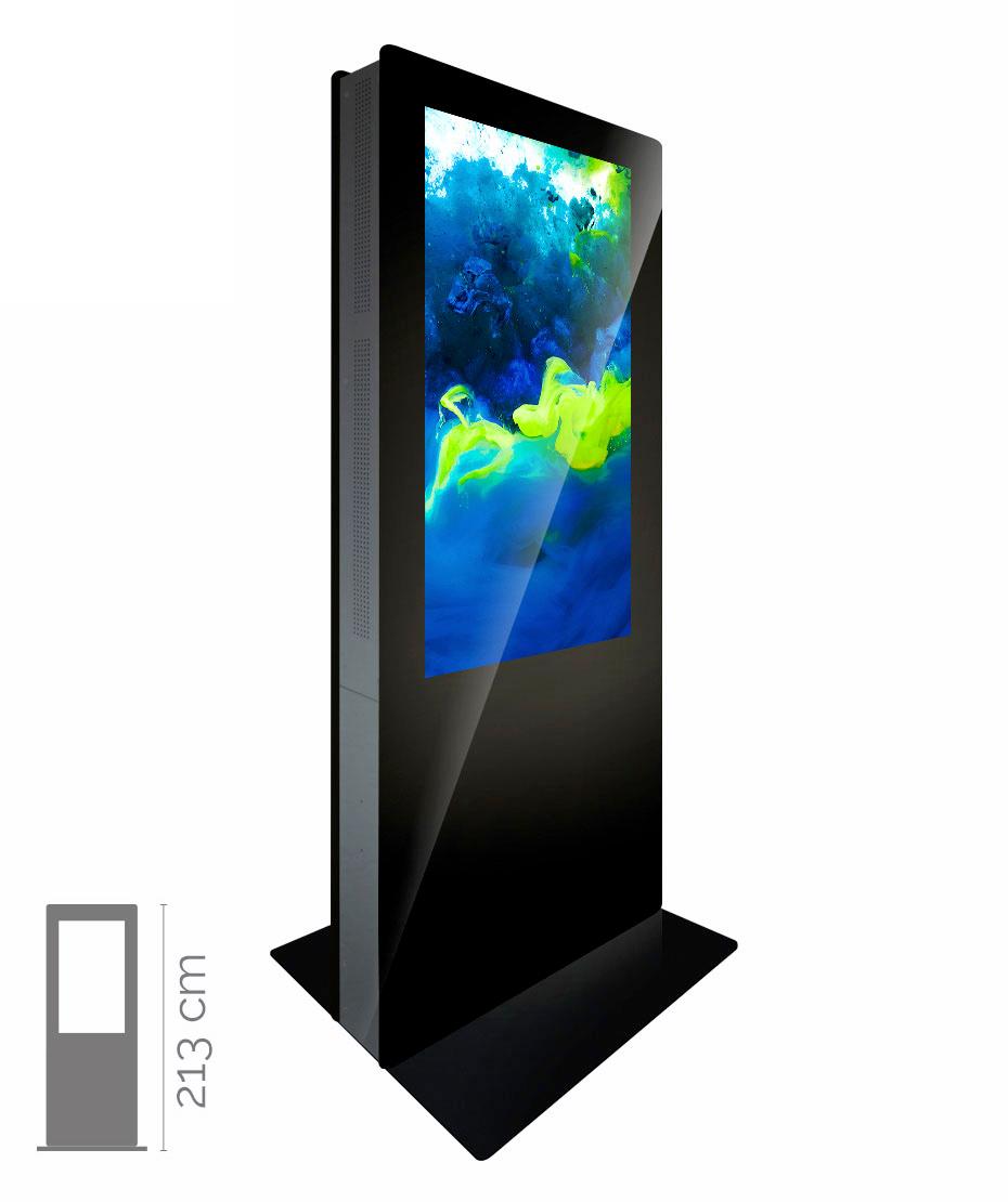 Totem Multimediale Bifacciale Mod. T55 bif