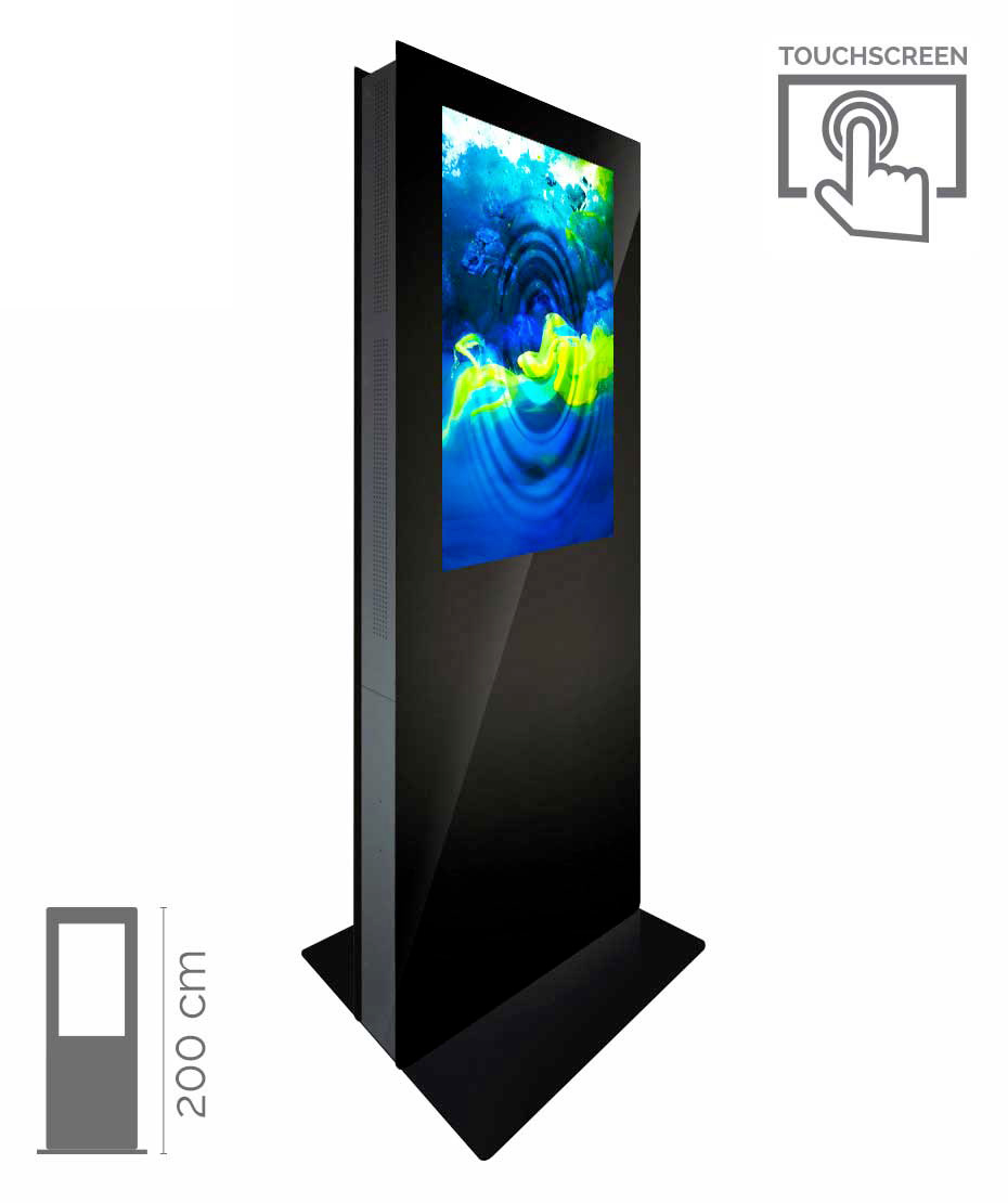 Totem Touch Screen Bifacciale Mod. T43 TS