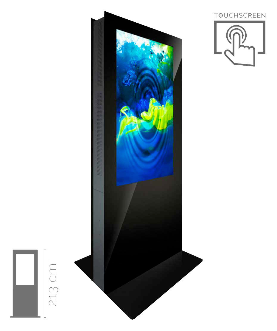 Totem Touch Screen Bifacciale Mod. T55 TS