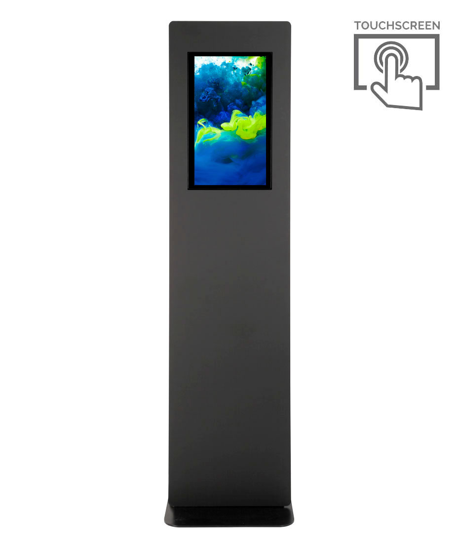 Totem Touch screen Monofacciale Mod. e-post Slim TS