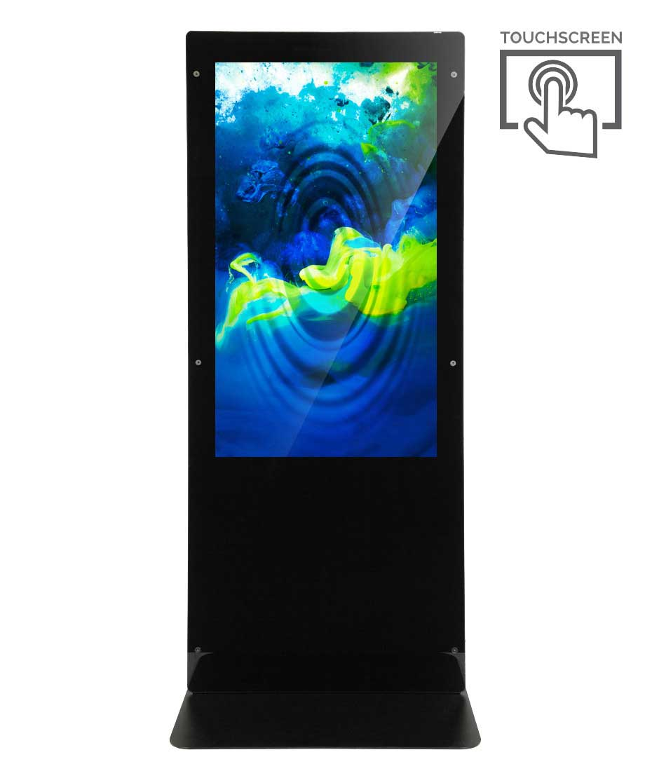 Totem Touch screen Monofacciale Mod. NewTon 55 TS