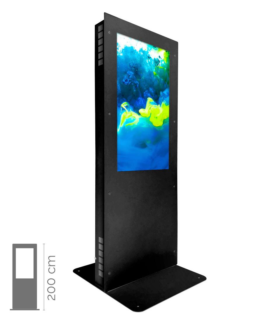 """Totem da vetrina per la farmacia mod. DCJ02 con Monitor da 46"""""""