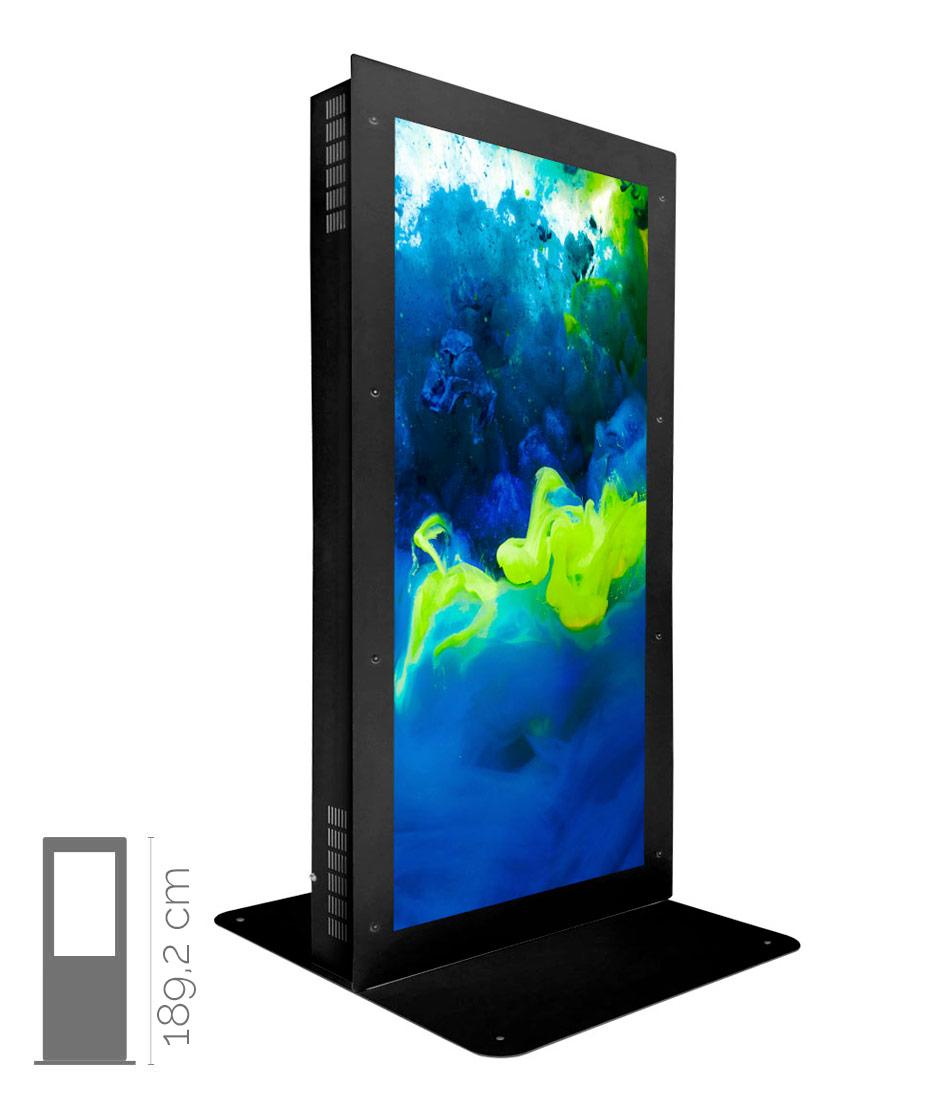 Totem multimediale da Vetrina Mod. NewTon W 75