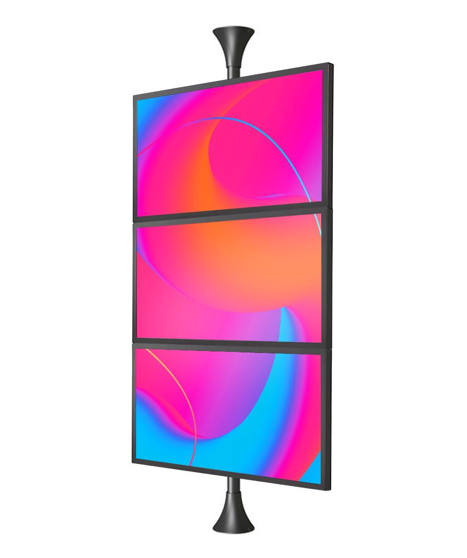 "Bundle da Vetrina con 3 monitor 46"" Samsung OM46N+player SBB-SS08NT2XEN"