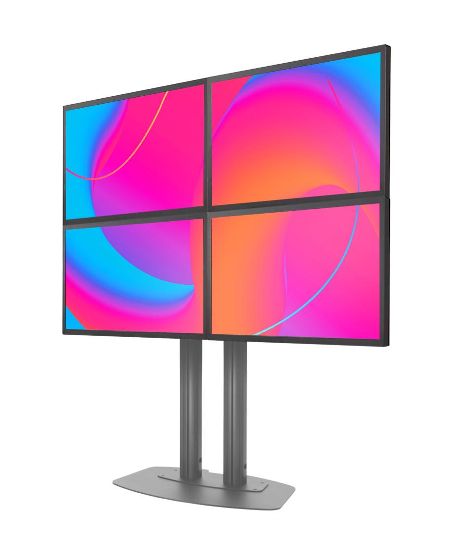 "Bundle da Vetrina con 4 monitor 46"" Samsung OM46N+Player SBB-SS08NT2XEN"