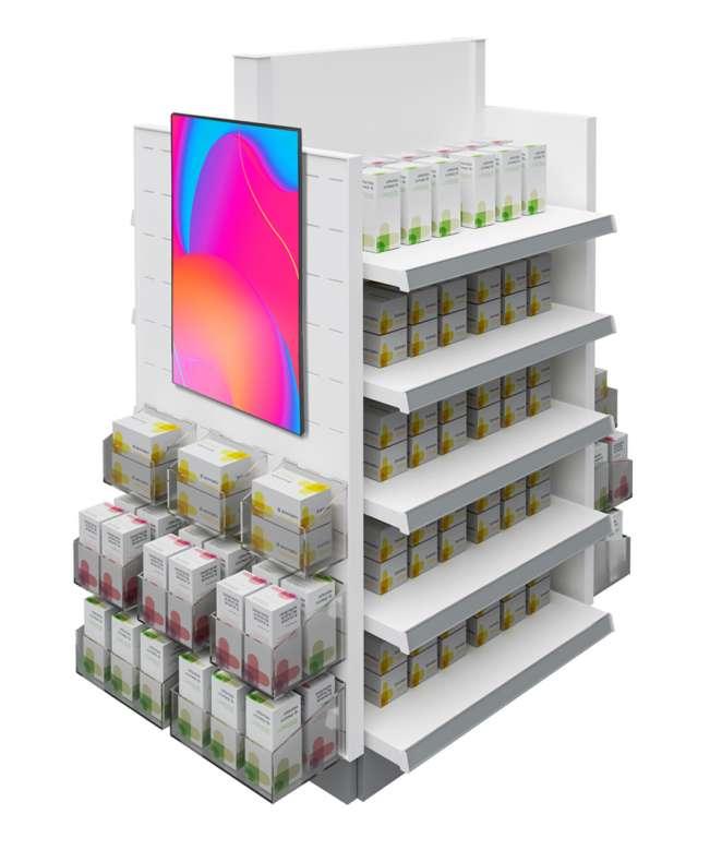 """Gondola Maxi digitale con Monitor da 32"""""""