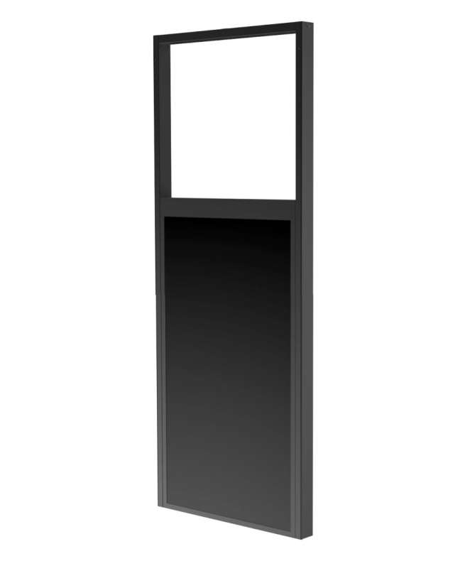 Ceiling mount for Samsung OM46ND back-to-back in-window displays