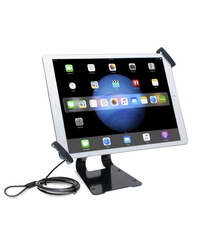 Supporto da tavolo regolabile per tablet 10 – 13″ – security lock cod.PAD-ATGSL