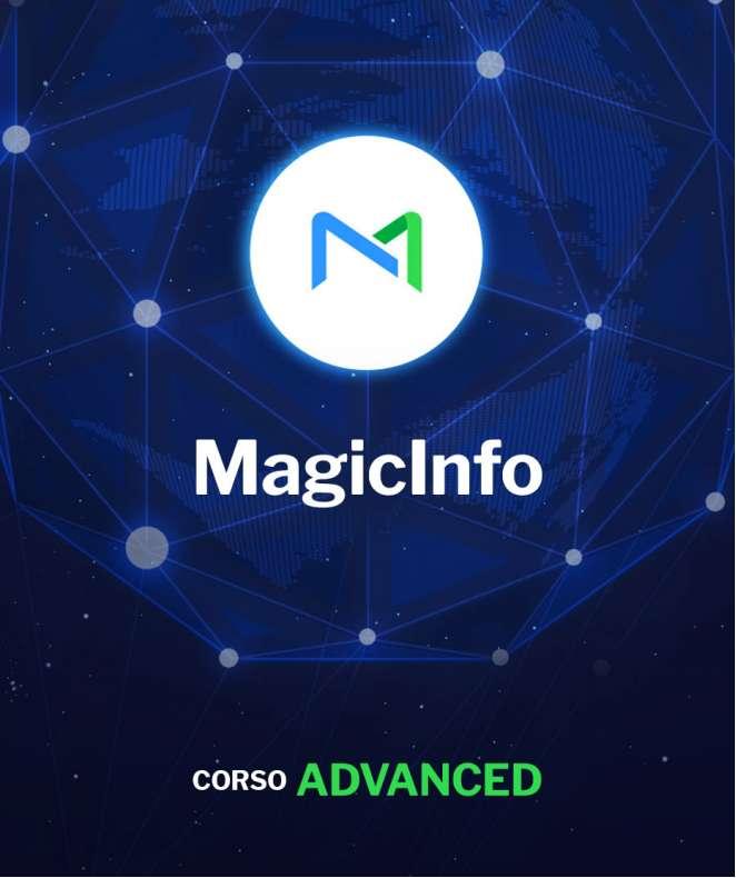Corso Advanced di MagicInfo Server (include Videowall e DataLink)