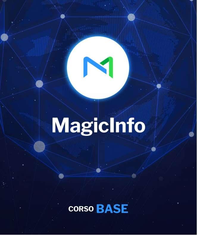 Corso Base di MagicInfo Server Online