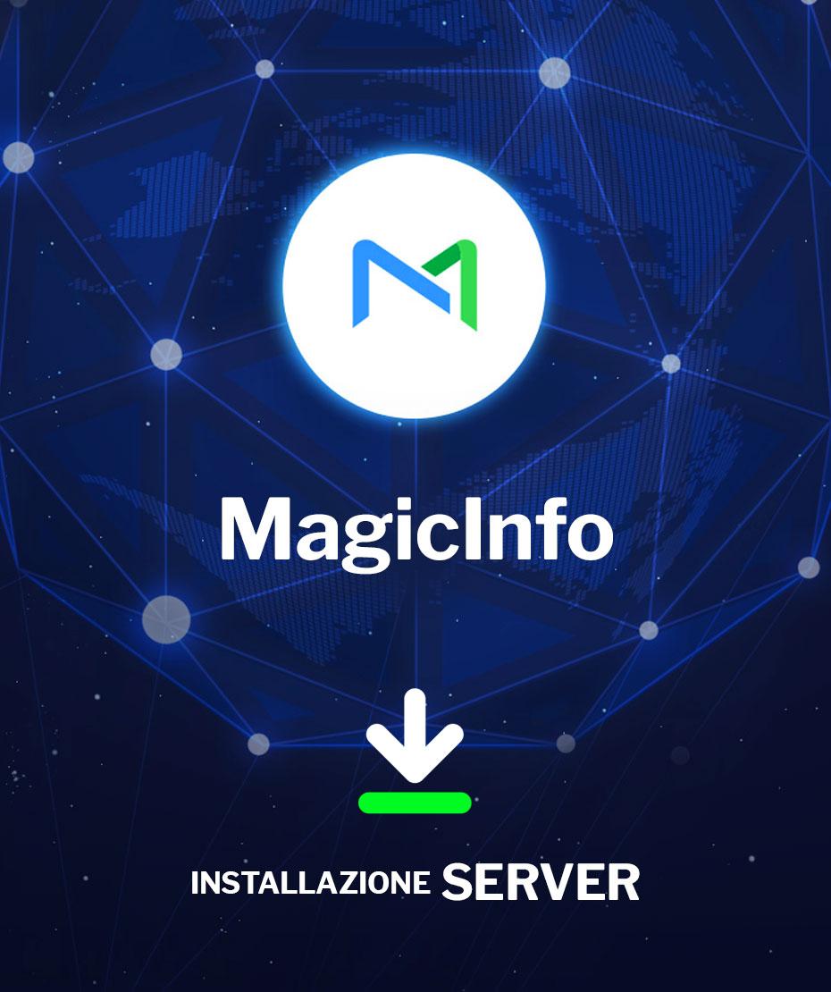 Assistenza Installazione Server MagicInfo da remoto