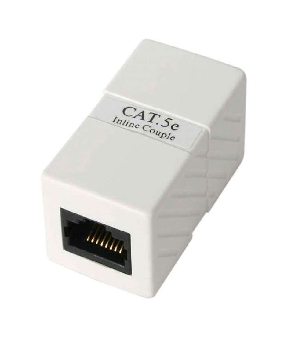 Accoppiatore modulare in serie Cat5e RJ45