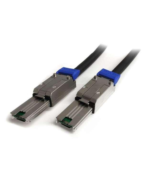 Cavo Mini SAS esterno 2 m - Serial Attached SCSI SFF-8088 a SFF-8088