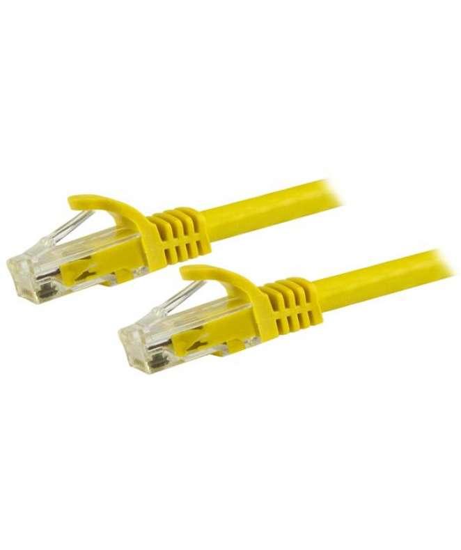 Cavo patch antigroviglio UTP RJ45 Cat6 Gigabit 15 m giallo - Cavo patch 15 m