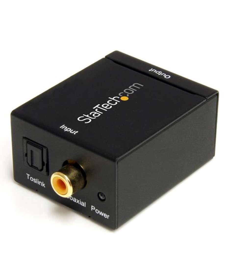 Convertitore audio da coassiale digitale SPDIF o ottico Toslink a RCA stereo