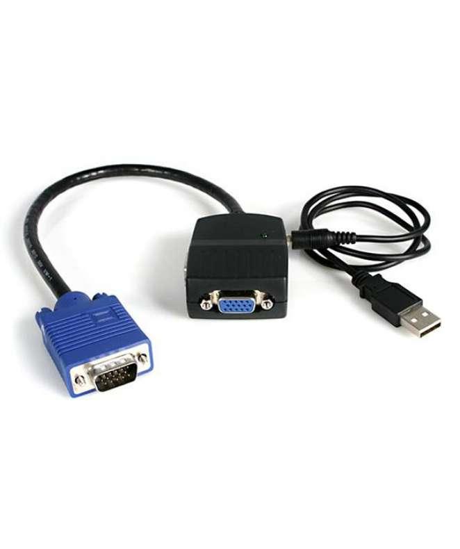 Sdoppiatore video VGA a 2 porte - Alimentato via USB