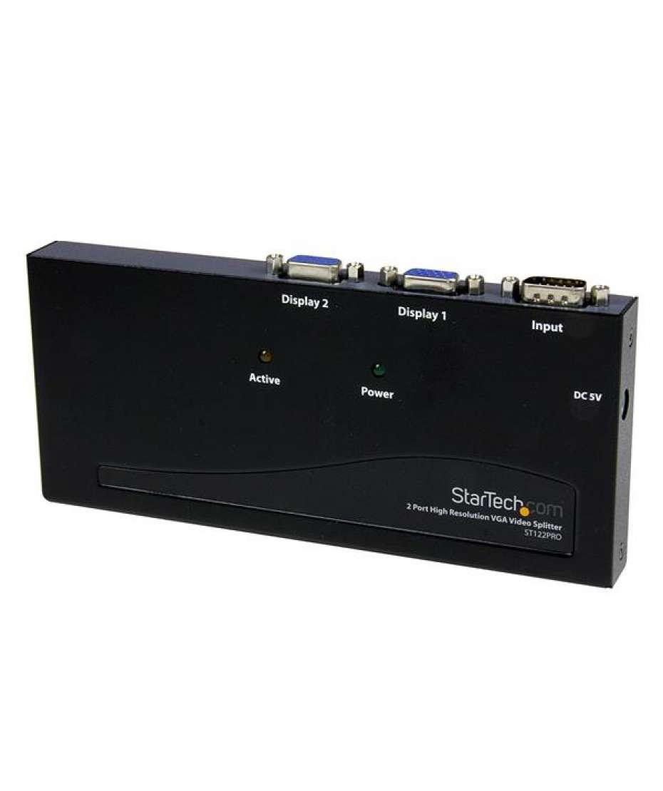 Sdoppiatore video VGA ad alta risoluzione a 2 porte 350MHz/Amplificatore di distribuzione
