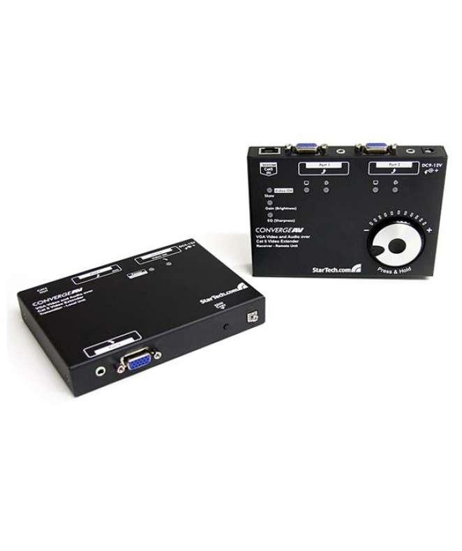 Extender video VGA via Cat5 con audio e calibrazione RGB SKEW
