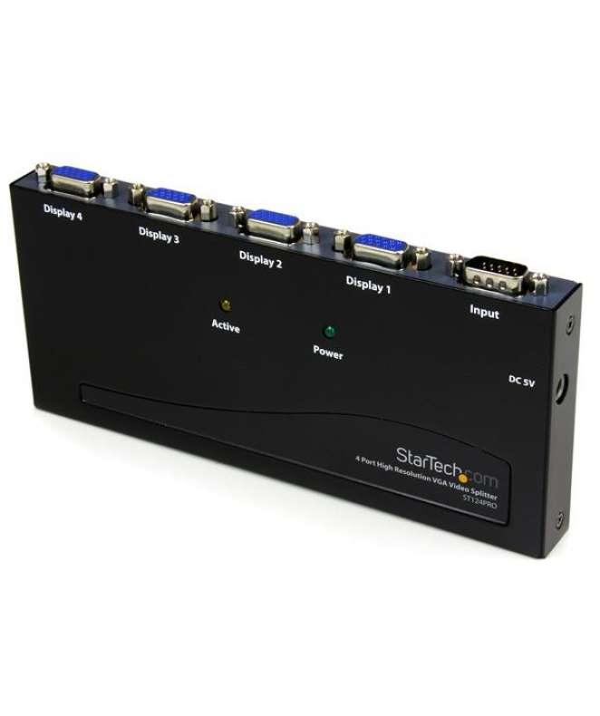Sdoppiatore video 350MHz ad alta risoluzione a 4 porte