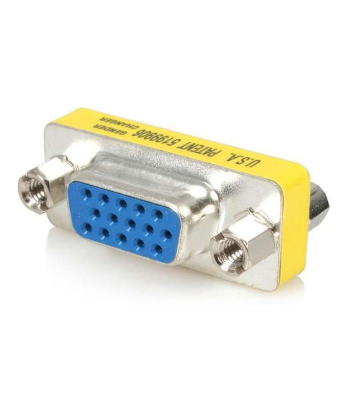 Accoppiatore VGA - Adattatore prolunga cavo VGA femmina a femmina - VGA Gender Changer F/F