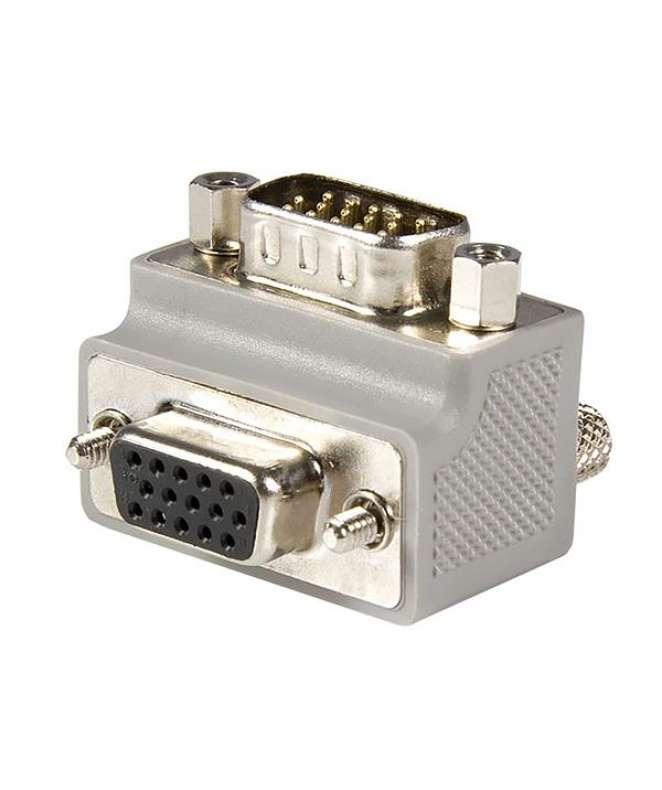 Adattatore angolato a destra VGA a VGA tipo 2 - M/F