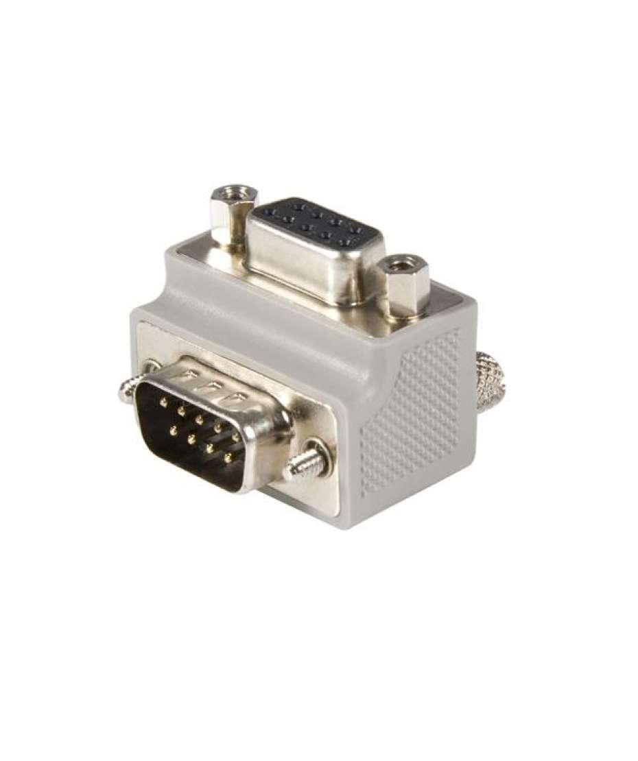 Adattatore angolato a destra Seriale DB9 a DB9 tipo 2 - M/F
