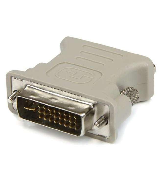 Adattatore Convertitore DVI a VGA - DVI-I Maschio a DB15 Femmina - Confezione da 10 pezzi