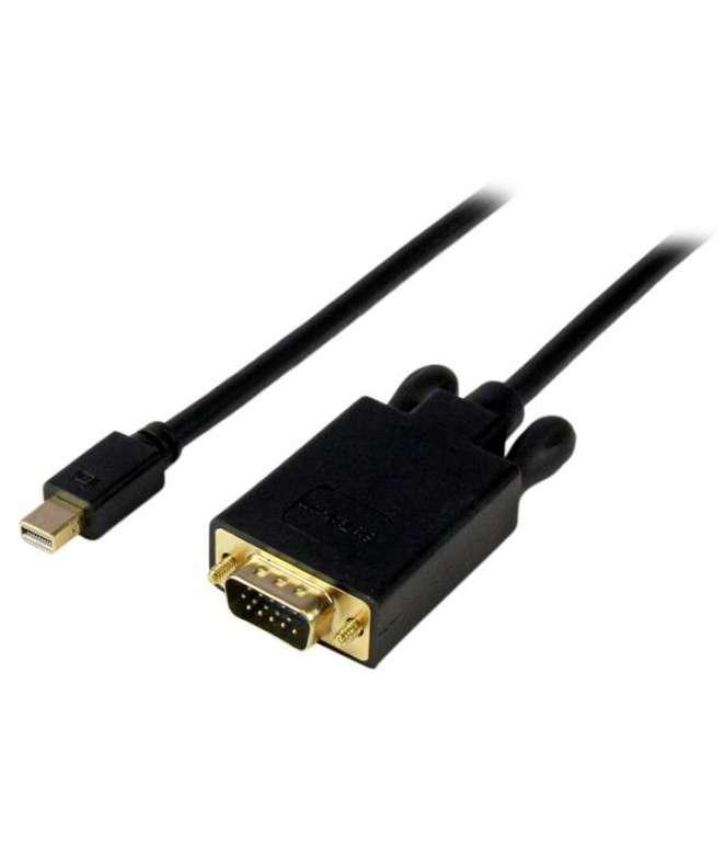 Cavo convertitore adattatore Mini DisplayPort a VGA da 91 cm – mDP a VGA 1920x1200 - Nero