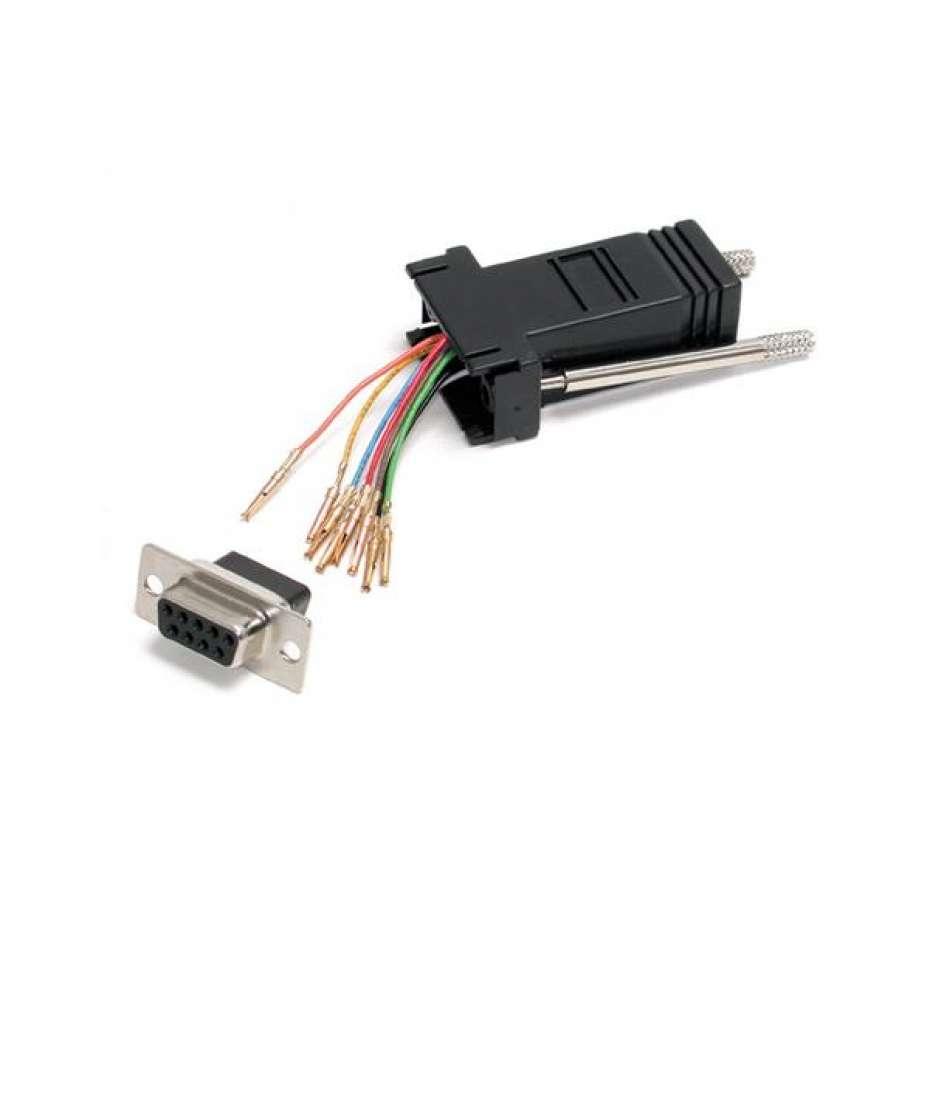 Adattatore Modulare seriale DB9 a RJ45 - F/F