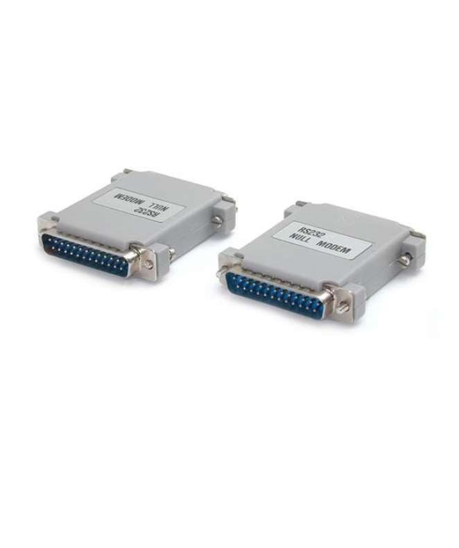 Cavo adattatore null modem DB25 a DB25 M/M