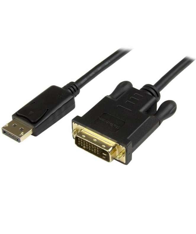 Cavo convertitore DisplayPort a DVI da 91 cm - Adattatore DP a DVI-D - Nero  1920x1200 M/M