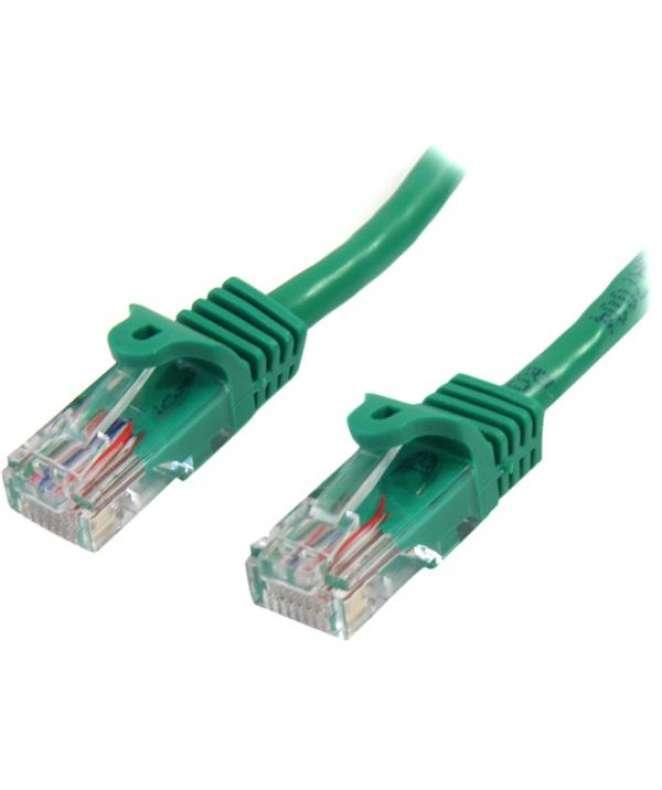 Cavo di rete CAT 5e - Cavo Patch Ethernet RJ45 UTP Verde da 2m  antigroviglio